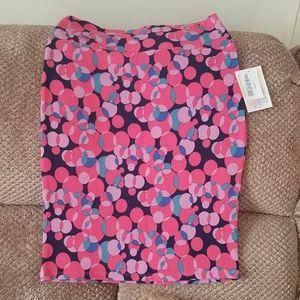 NWT'S Lularoe Bubbles Cassie Pencil Skirt Small